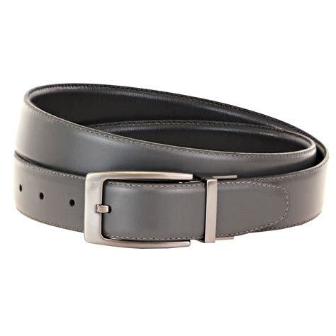 tbbc hayhurst reversible leather belt grey black elevate