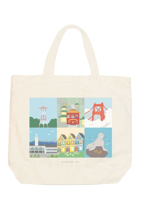 Sf Tote seltzer goods sf tote
