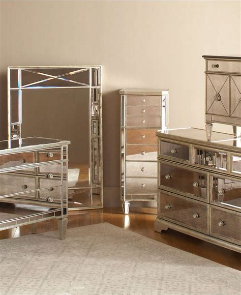 mirrored bedroom set marais bedroom furniture sets pieces furniture macy
