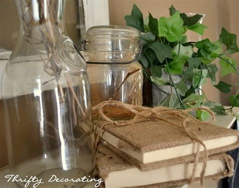Thrifty Home Decorating Blogs the precious little things in life how to diy book covers