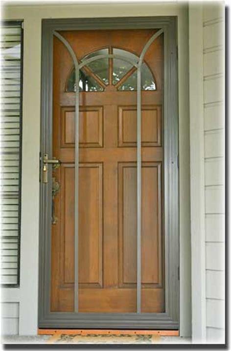 Screen For Front Door Swinging Screen Doors Sacramento Ca A To Z Screens