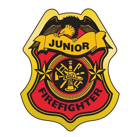 printable firefighter badge  images firefighter