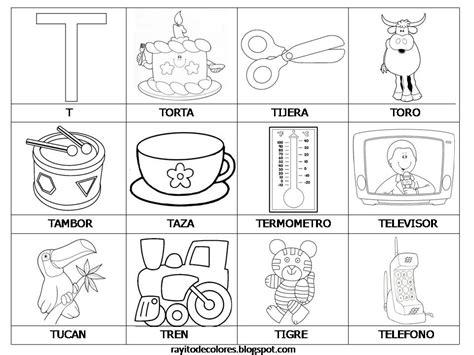imágenes que empiecen con la letra t rayito de colores alfabeto en palabras de la a a la z
