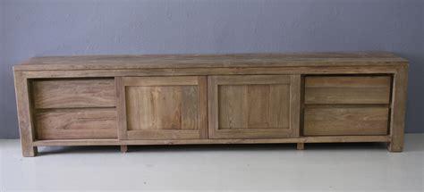 tv meubel 250 cm teak tv meubel amersfoort 250cm indoteak