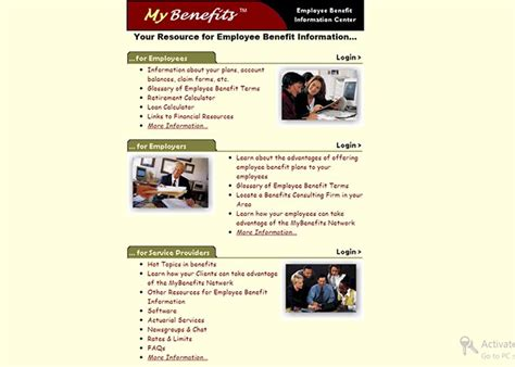 www mybenefits employee benefit information center
