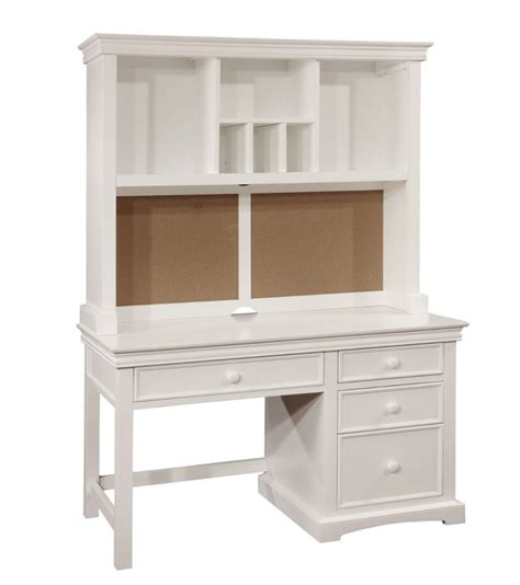 White Computer Desk With Hutch with White Computer Desks For Home Office