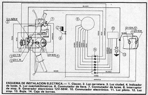 wiring diagram for 1974 vespa rally 200 bombardier rally