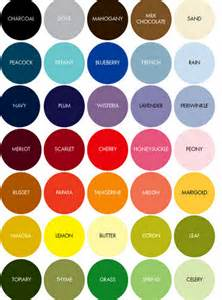 pick colors factors to consider when choosing your wedding colours