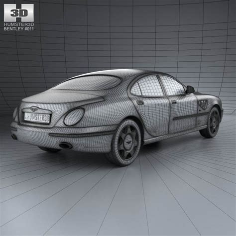 bentley rapier bentley rapier 1996 3d model humster3d