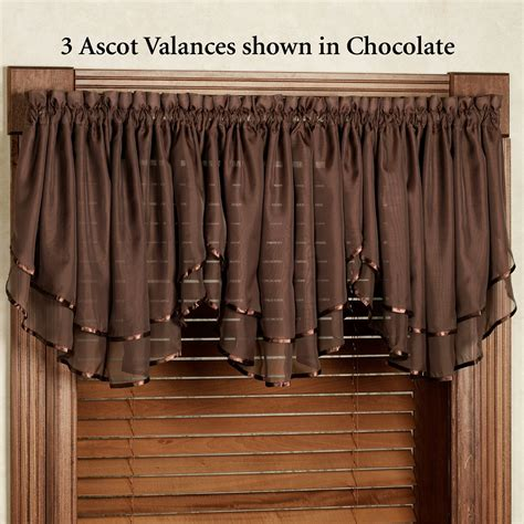 chocolate curtains with valance chocolate curtains with valance soozone