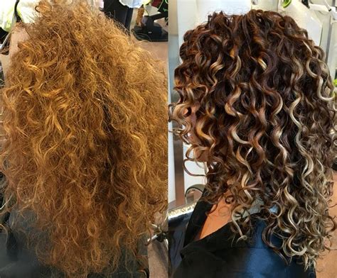 curly hair with lowlights 25 best ideas about hair painting highlights on pinterest