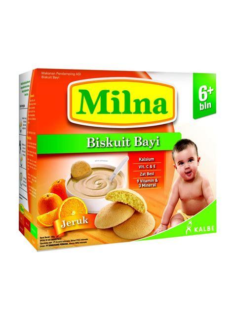 Milna Biskuit Bayi Jeruk 6 130gr milna biscuit bayi 6 jeruk box 130g klikindomaret
