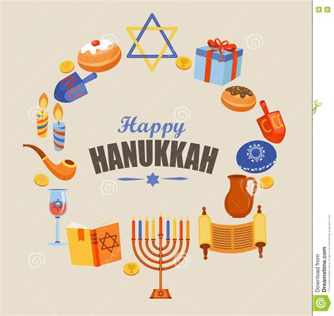 happy hanukkah card template hanukkah illustrations vector stock images