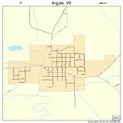 argyle wisconsin map 5502650