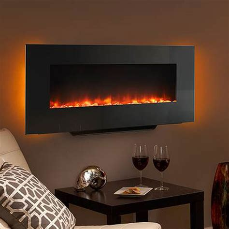 Heat N Glo Fireplace Accessories by Heat Glo Simplifire 38 Quot Electric Wall Mounted