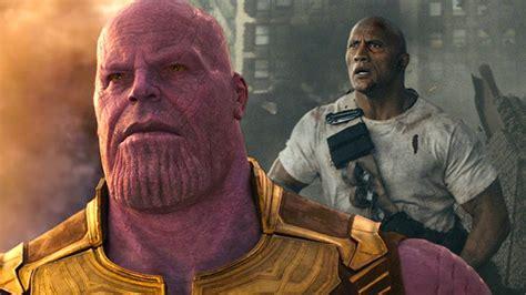 avengers infinity war dwayne johnsonin goezuenue korkuttu log