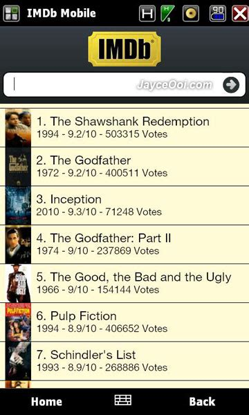 imdb mobile imdb mobile for windows mobile phone jayceooi