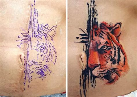 scar tattoo cover arm scar cover up www pixshark images