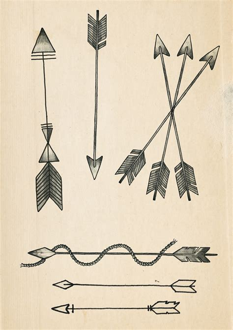 crossing arrow tattoo meaning rich fairhead illustration a few arrow designs for