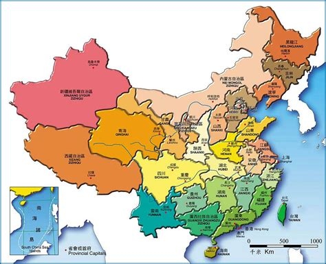 province map china provincial map map of china provinces china maps 2018