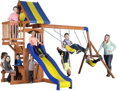 best rated swing sets wooden swing sets under 500 swing set resource