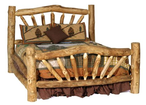 Building Log Furniture by Rustic Furniture Building