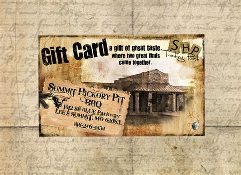 City Bbq Gift Card - shp trading post is the most hip and unique shopping