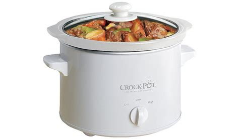 Gig Baby Cooker 1 5 L crock pot sccpqk5025w 060 2 4l cooker white