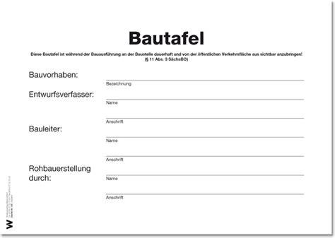 Baustellenschild Vorlage Bayern by Bautafel Weise Software Gmbh