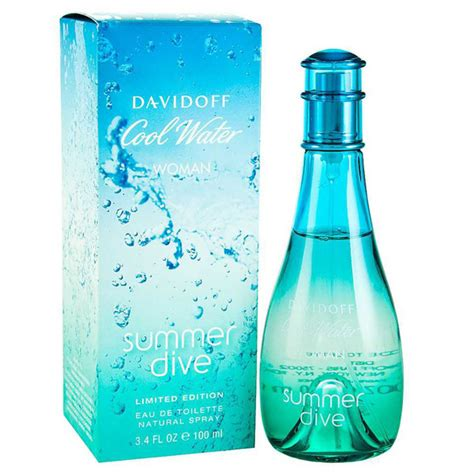 davidoff cool water summer dive cool water summer dive by davidoff 3 4 oz eau de