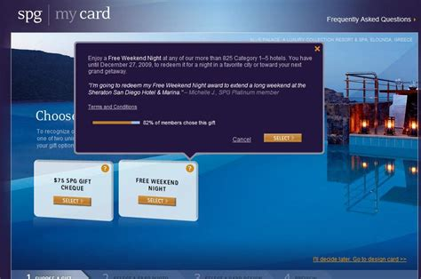 Spg Gift Card - spg personalized card archives loyalty traveler