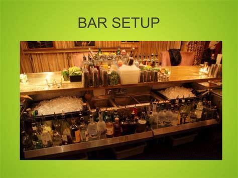 Bar Setup Ten Things You Can Do To Make Your Bar More Money