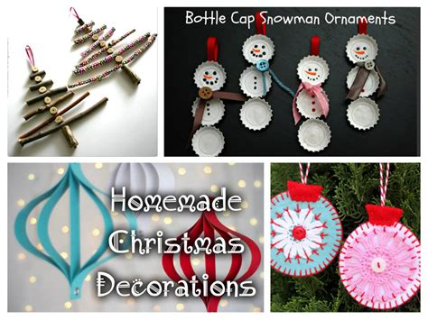 christmas home made decorations christmas decorations diy kids