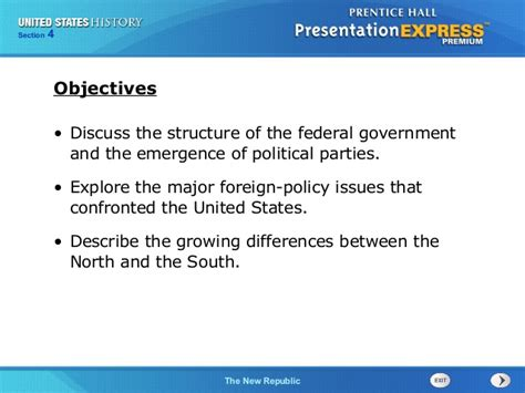 american government chapter 7 section 1 us history ch 1 section 4 notes