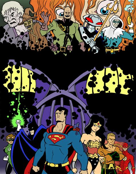 absolute justice league the absolute justice by masteronin on