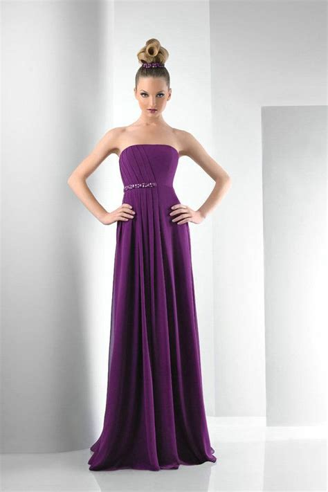 Trend Of The Week Purple Strapless Dresses by Strapless Purple Bridesmaid Dress Insured Fashion