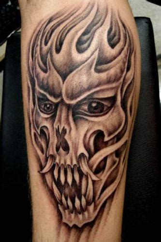 tribal tattoos evil images designs