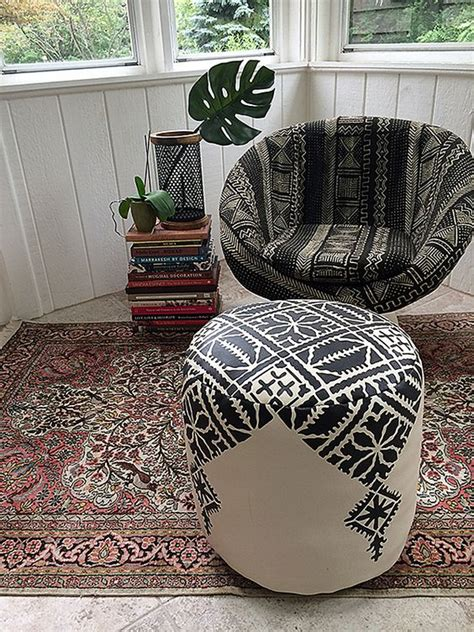 make your own pouf ottoman diy moroccan pouf poufs embroidery and embroidery patterns