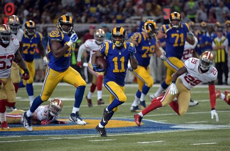 st louis rams st louis rams 5 impactful players during sunday s victory