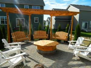 Can You Use A Fire Pit On A Wood Deck - fire pit seating to make your outdoors cozy