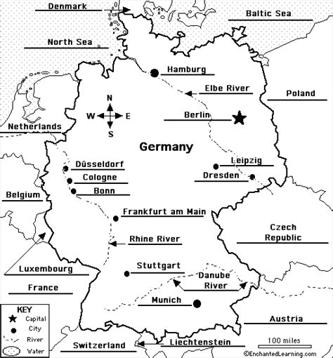 labeled map of germany how to draw map of germany