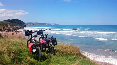 camino de santiago in bici camino de santiago en bici ruta norte bikingthroughspain
