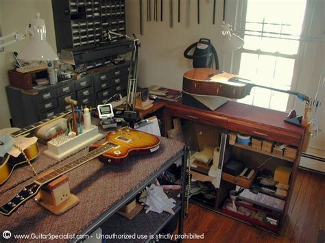 guitar repair bench guitar repair restoration by the guitar specialist inc