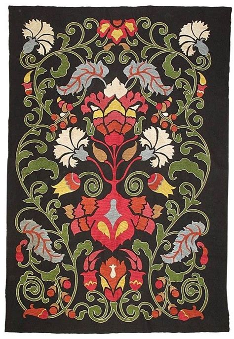 uzbek suzani embroidery marvelous uzbek silk handmade embroidery suzani silk