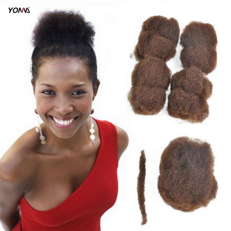 kinky human hair for locs in columbus ohio yotchoi 4pcs lot tight afro kinky bulk hair 100 human