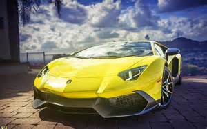 Lamborghini Aventador Yellow Hd Lamborghini Aventador Supercar Yellow Wallpapers Hd