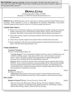 sle resume for a new graduate dummies