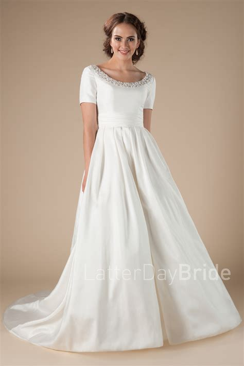 Modest Bridal Gowns by Modest Wedding Gowns Surrey
