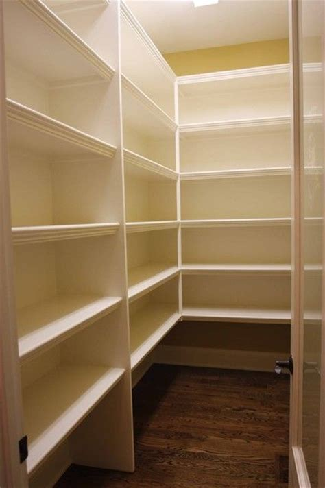 simple walk in pantry shelving oh so organized