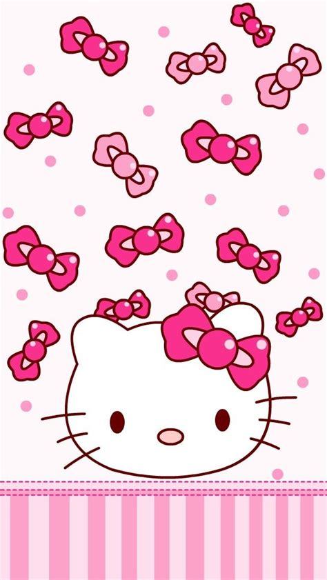 wallpaper hello kitty yg bisa bergerak wallpaper hello kitty pink top backgrounds wallpapers